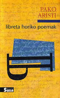 LIBRETA HORIKO POEMAK