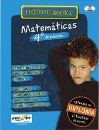 (cd-rom)  Ep 4 - Matematicas - Refuerzo Escolar - Aa. Vv.