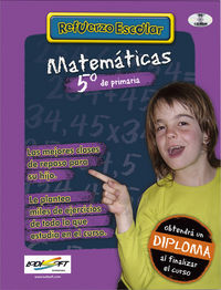 (cd-rom)  Ep 5 - Matematicas - Refuerzo Escolar - Aa. Vv.