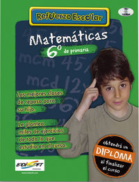 (cd-rom)  Ep 6 - Matematicas - Refuerzo Escolar - Aa. Vv.