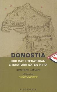 DONOSTIA HIRI BAT LITERATURAN LITERATURA BATEN HIRIA