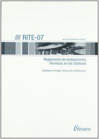 Rite-07 - Reglamento De Instalaciones Termicas En Los Edificios -