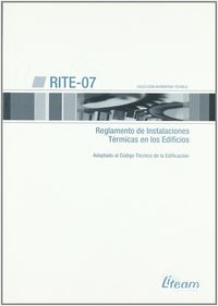 RITE-07 - REGLAMENTO DE INSTALACIONES TERMICAS EN LOS EDIFICIOS