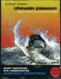 (2 DVD) UHINEKIN JOLASEAN - SURFEAN IKASTEN + LIBURUA