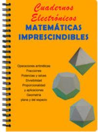Cuadernos Electrónicos: Matemáticas Imprescindibles - Nicolás García Herrera