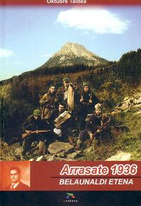 ARRASATE 1936 - BELAUNALDI ETENA