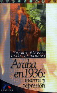 ARABA EN 1936 - GUERRA Y REPRESION