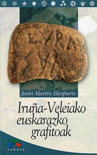 Iruña-Veleiako Euskarazko Grafitoak - Juan Martin Elexpuru