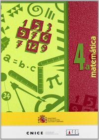 MATEMATICAS 4A (+CUAD. )