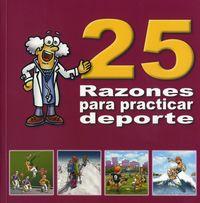 25 RAZONES PARA PRACTICAR DEPORTE