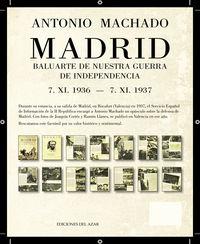 MADRID BALUARTE DE NUESTRA GUERRA DE INDEPENDENCIA