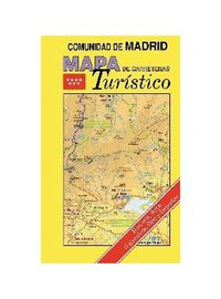 Mapa Carreteras Turistico Comunidad De Madrid - Aa. Vv.