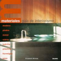 MATERIALES - GUIA DE INTERIORISMO