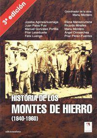 Historia De Los Montes De Hierro (1840-1960) - Manu Montero