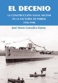 DECENIO, EL - LA CONSTRUCCION NAVAL MILITAR EN EL FERROL 1936-1946