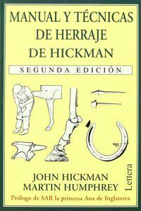 MANUAL DE TECNICAS DE HERRAJE DE HICKMAN