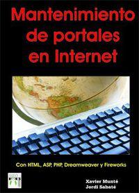 MANTENIMIENTO DE PORTALES EN INTERNET