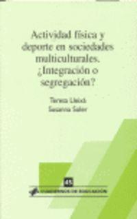 ACTIVIDAD FISICA Y DEPORTE EN SOCIEDADES MULTICULTURALES