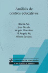 ANALISIS DE CENTROS EDUCATIVOS