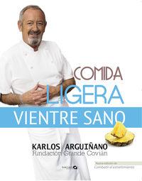 comida ligera, vientre sano - Karlos Arguiñano