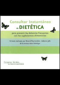 Consultor Instantaneo De Dietetica - Roland Reymondier