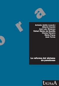 La reforma del sistema de pensiones - Antonio  Anton (coord. )