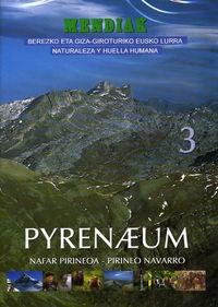 (dvd) Mendiak 3 - Pyrenaeum 1 - Nafar Pirineoa-Pirineo Navarro -