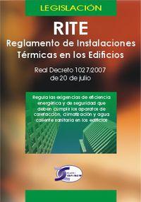 RITE - REGLAMENTO INSTALACIONES TERMICAS EN LOS EDIFICIOS