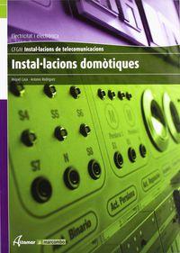 Gm - Instalacions Domotiques (cat) - Aa. Vv.