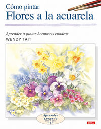 Como Pintar Flores A La Acuarela - Wendy Tait