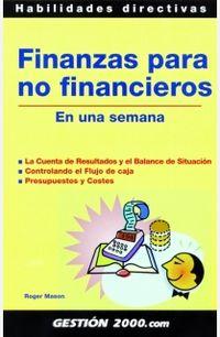 Finanzas Para No Financieros - Roger Mason