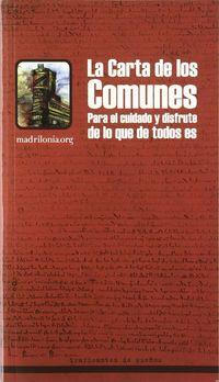CARTA DE LOS COMUNES