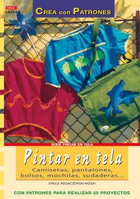 PINTAR EN TELA - CAMISETAS, PANTALONES, BOLSOS