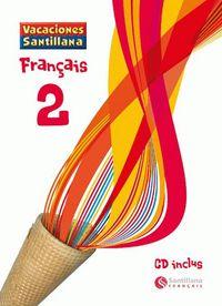 ESO 2 - VACACIONES FRANÇAIS 2 (+CD)