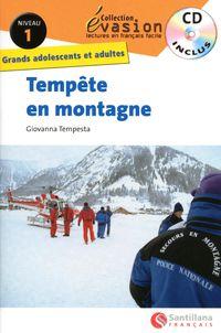 Niveau 1 - Tempete En Montagne (+cd) - Aa. Vv.