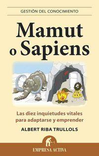 Mamut O Sapiens - Albert Riba Trullols