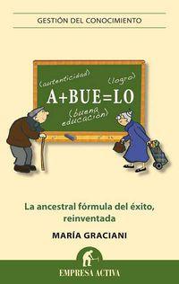 Abuelo - Autenticidad + Buena Educacion = Logros - Maria Graciani Garcia