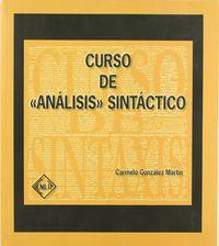 CURSO DE ANALISIS SINTACTICO