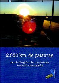 2.050 km DE PALABRAS