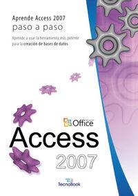 ACCESS 2007 - PASO A PASO