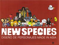 New Species - Diseño De Personajes Made In Asia - Aa. Vv.