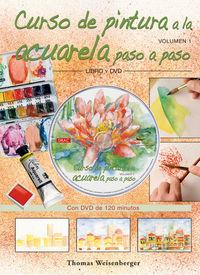 Curso De Pintura A La Acuarela Paso A Paso (libro + Dvd) - Thomas Weisenberger