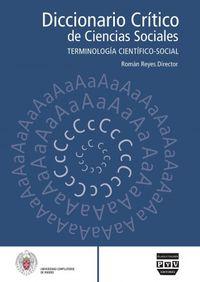 Dicc. Critico De Las Ciencias Sociales Iv - Aa. Vv.