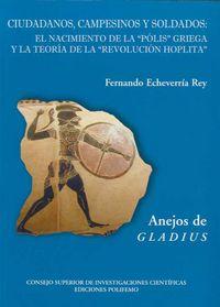 Cuidadanos, Campesinos Y Soldados - Fernando Echeverrria Rey
