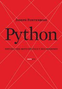 Python - Estudios Del Mito Delfico Y Sus Origenes - Jose Fontentose