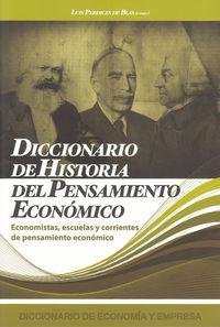 Dicc. De Historia Del Pensamiento Economico - Aa. Vv.