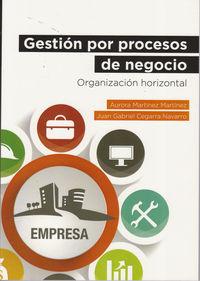 Gestion Por Procesos De Negocio - Aurora Martinez Martinez / Juan Gabriel Cegarra Navarro