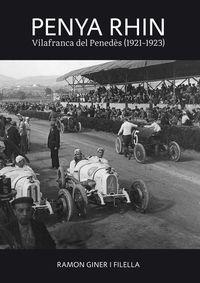 PENYA RHIN - VILAFRANCA DEL PENEDES (1921-1923)