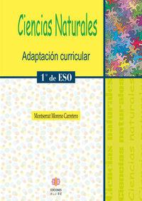 ESO 1 - CIENCIAS NATURALES - ADAPTACION CURRICULAR