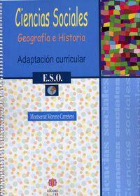 ESO 1 - CIENCIAS SOCIALES - ADAPTACION CURRICULAR